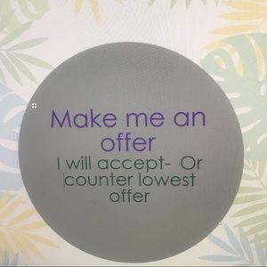 Like/ Love It - Make An Offer!!!